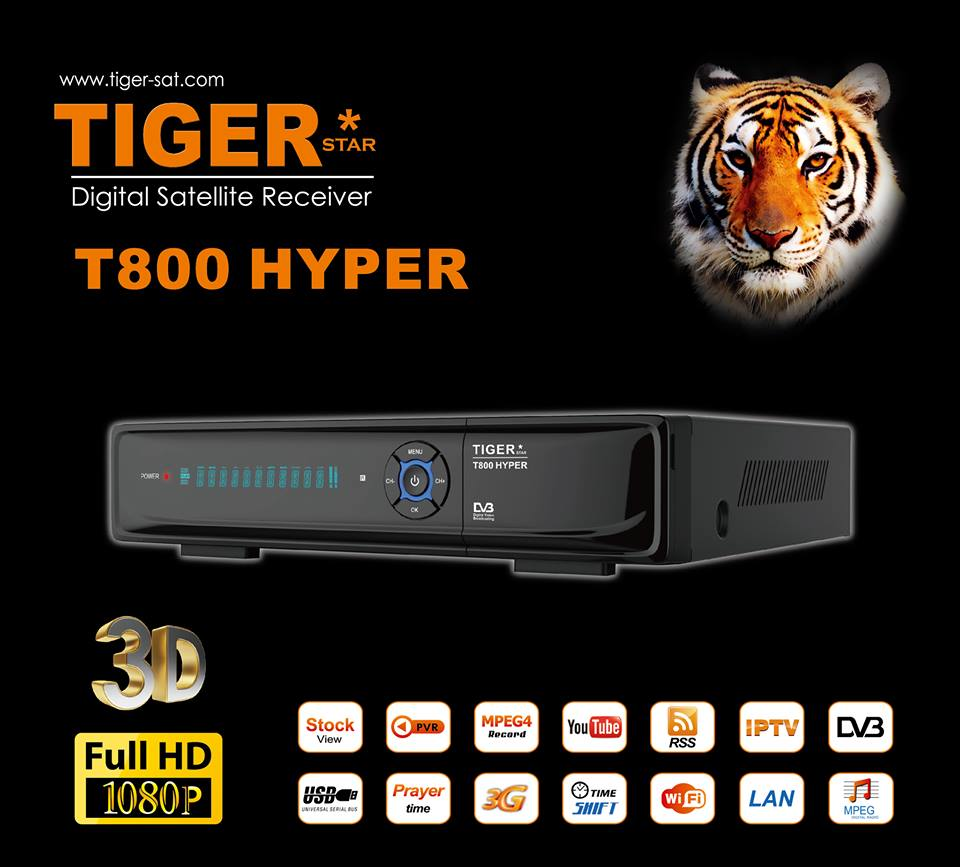 tiger receivers update 09/04/2019 - satunivers net